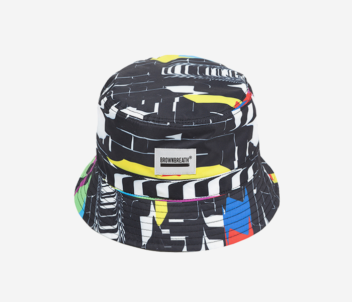 SIGNAL BUCKET HAT - M.COLOR brownbreath