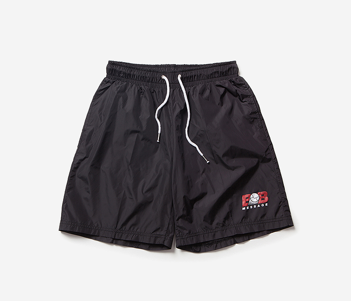 BB MESSAGE JOGGING SHORTS brownbreath