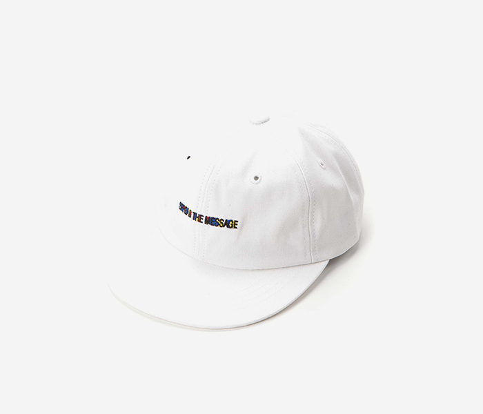 STM FILL 6PANNEL CAP - WHITE brownbreath