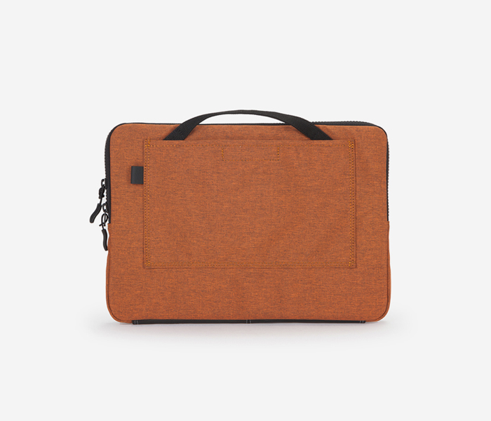 "N210 LAPTOPCASE 13"" - 2TONE ORANGE brownbreath"