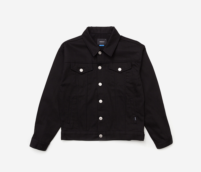 SPREAD DENIM JKT - BLACK brownbreath