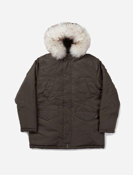 WILL PARKA - KHAKI brownbreath
