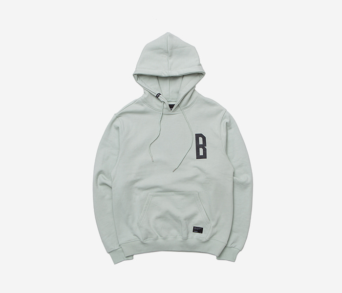 RESEARCH HOODIE - PALE GREEN brownbreath