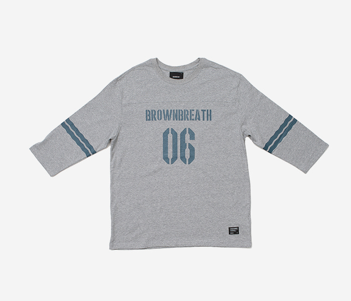 1/7 T-SHIRTS 2018 LE - GREY brownbreath