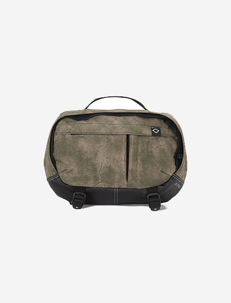 N395 GRAVITY WAISTBAG - PRINTING KHAKI brownbreath