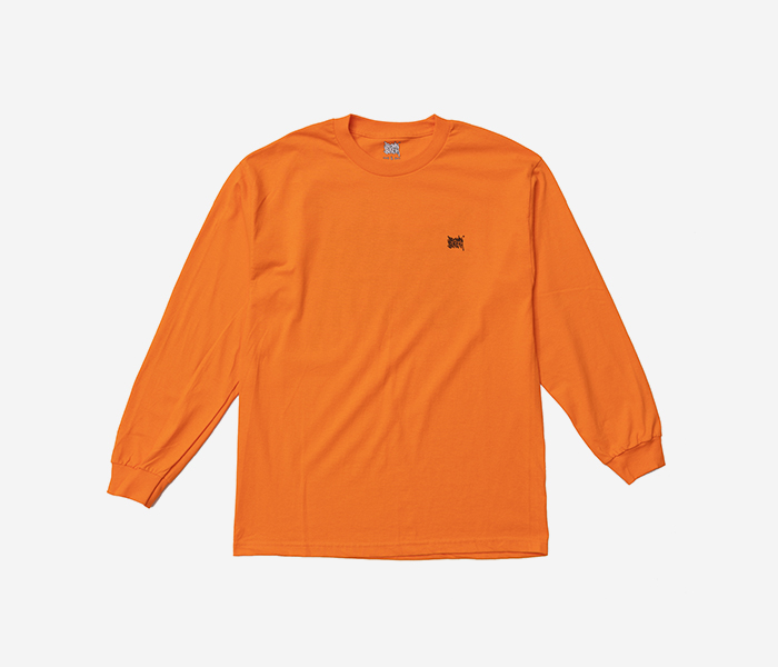 TAG LONGSLEEVE - ORANGE brownbreath