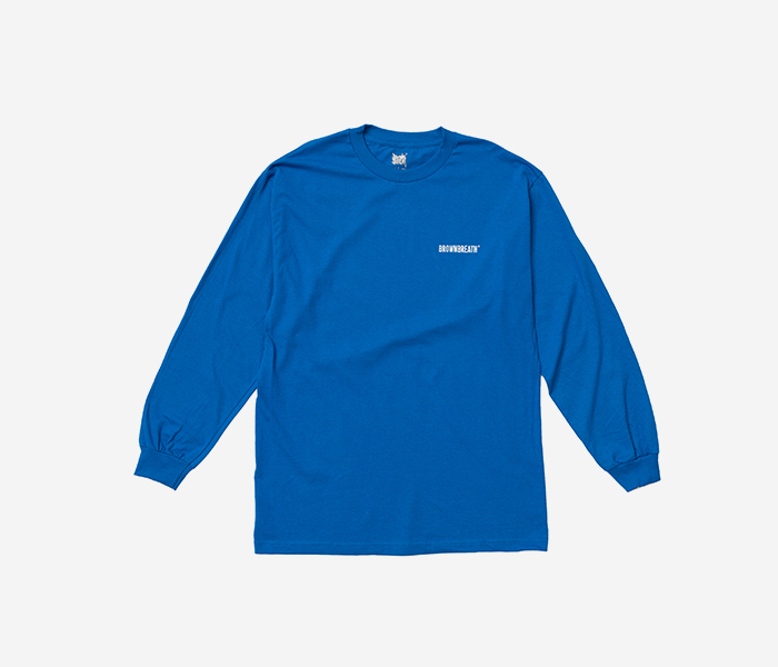BB TYPE LONGSLEEVE - BLUE brownbreath