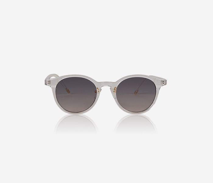NOMAD SUNGLASS - WHITE brownbreath