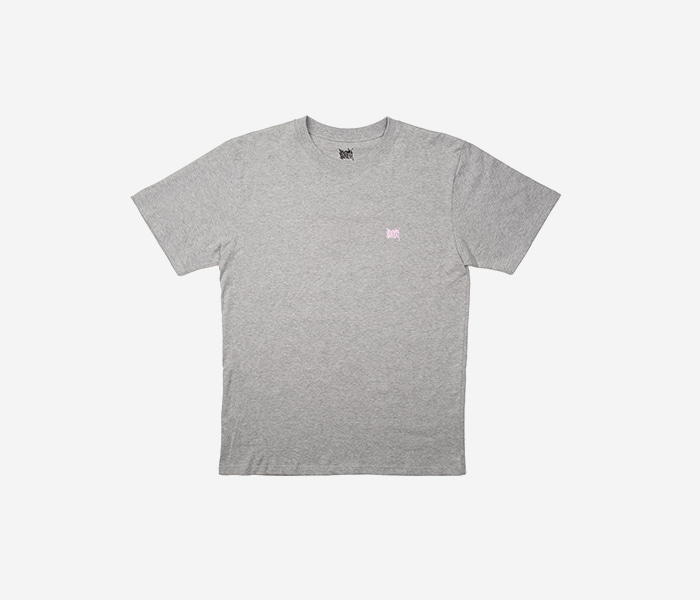 LIL TAG TEE - GREY brownbreath