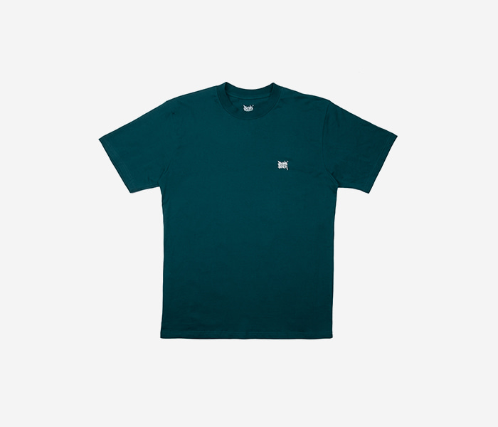LIL TAG TEE - GREEN brownbreath