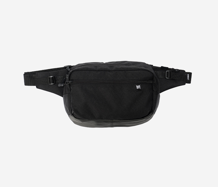 STRIVE WAIST BAG - BLACK brownbreath