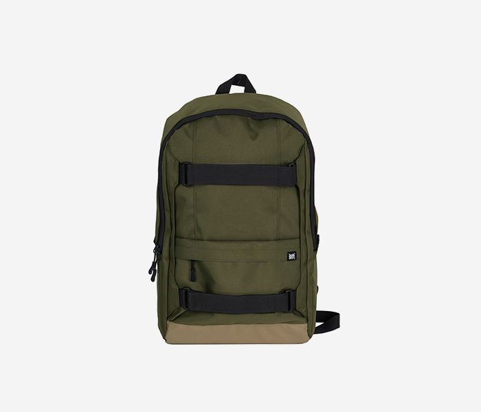 DEFS SIMPLE BACKPACK  - KHAKI brownbreath