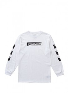 STM LONGSLEEVE HL - WHITE brownbreath