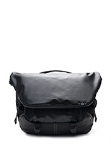 [3/17일 예약발송]N010 MESSENGER BAG - TARP BLACK brownbreath