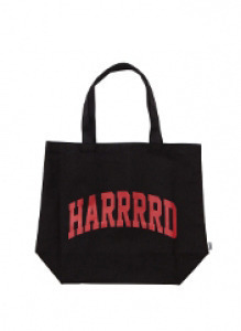 HARD MESSAGE BAG - BLACK(BURGUNDY) brownbreath