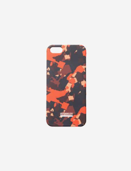 PHONE CASE NEWSBOY CAMO - ORANGE brownbreath