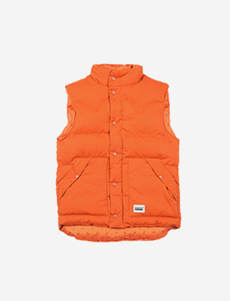 HEPTA VEST - ORANGE brownbreath