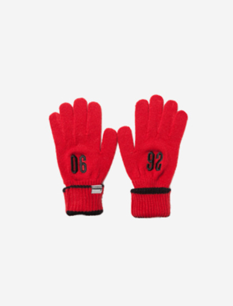 0692 GLOVES - RED brownbreath