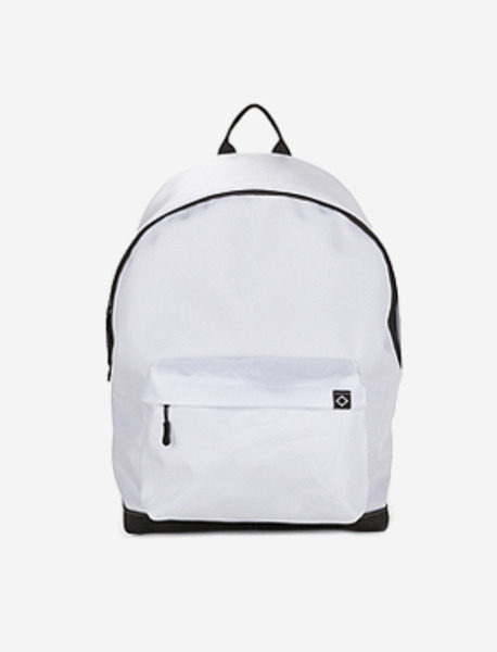 N020 BASIS DAYBAG - WHITE brownbreath