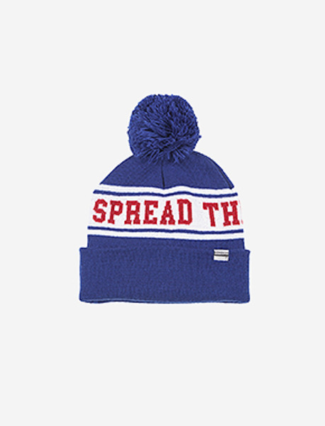 STM BELL BEANIE - BLUE brownbreath