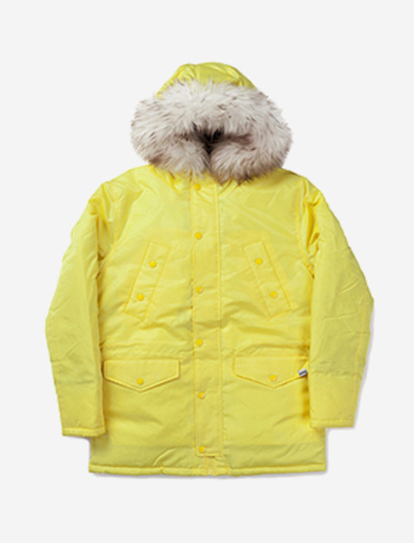 WILL PARKA - YELLOW brownbreath