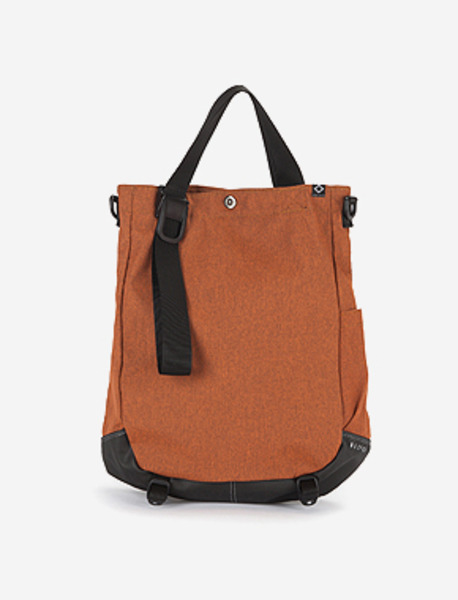 N680 ARTISAN BAG - 2TONE ORANGE brownbreath