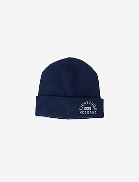EHM BEANIE - NAVY brownbreath