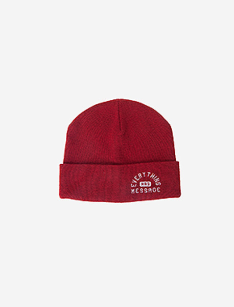EHM BEANIE - RED brownbreath