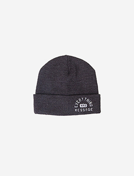 EHM BEANIE - CHARCOAL brownbreath