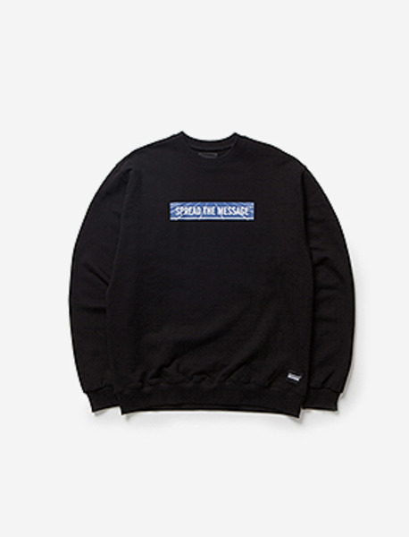 STM CREWNECK SP brownbreath