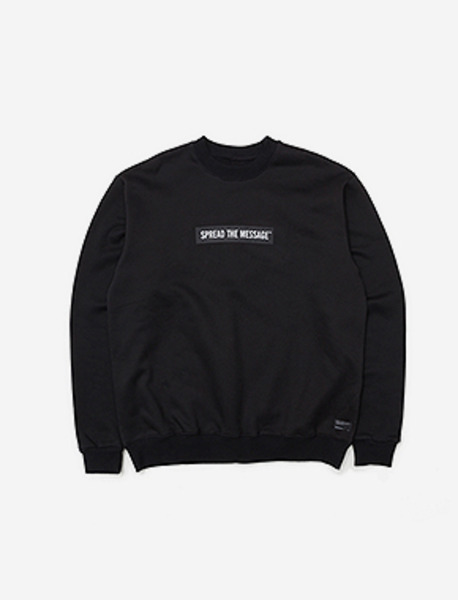STM CREWNECK KD - BLACK brownbreath