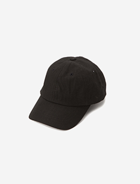 B MOVE RIPSTOP CAP - BLACK brownbreath
