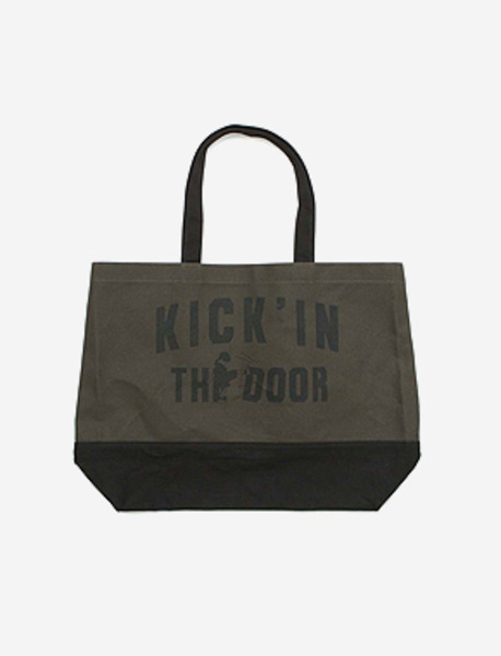KICK BIG M.BAG - KHAKI brownbreath