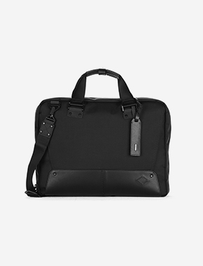 B113 Brief Case - BLACK brownbreath
