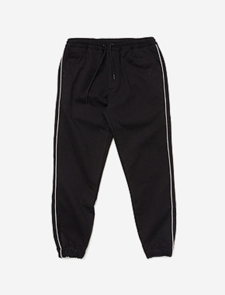 LILSIGN WOOVEN PANTS - BLACK brownbreath