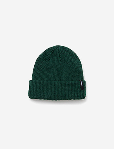 B BASIC BEANIE - GREEN brownbreath
