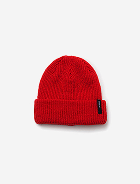 B BASIC BEANIE - ORANGE brownbreath