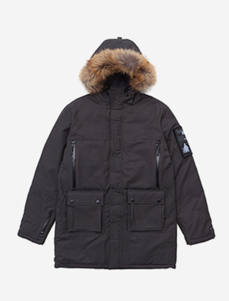 RAID HEAVY PARKA - CHARCOAL brownbreath