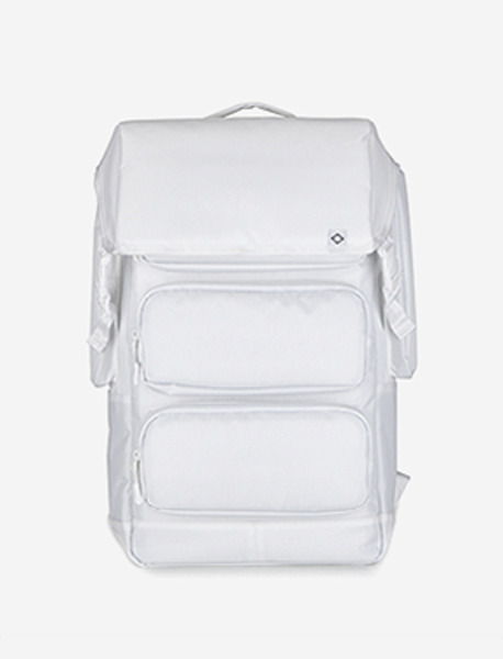 C010 URBAN BACKPACK - WHITE brownbreath