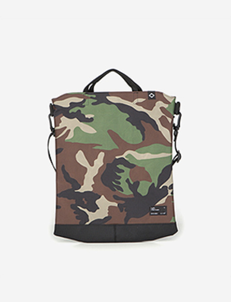 N050 CIVITAS S.TOTE BAG - CAMO brownbreath
