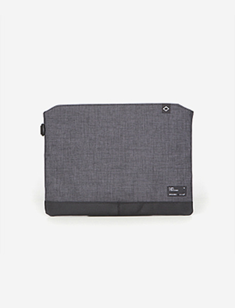 N045 CIVITAS POUCH - GREY brownbreath