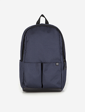 N023 MOTIVE DAYBAG - NAVY brownbreath