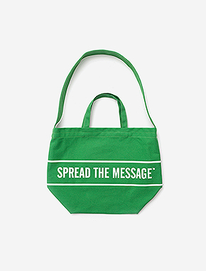 STM CROSS M.BAG - GREEN brownbreath