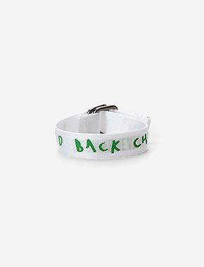 LAID BACK BRACELET - WHITE brownbreath