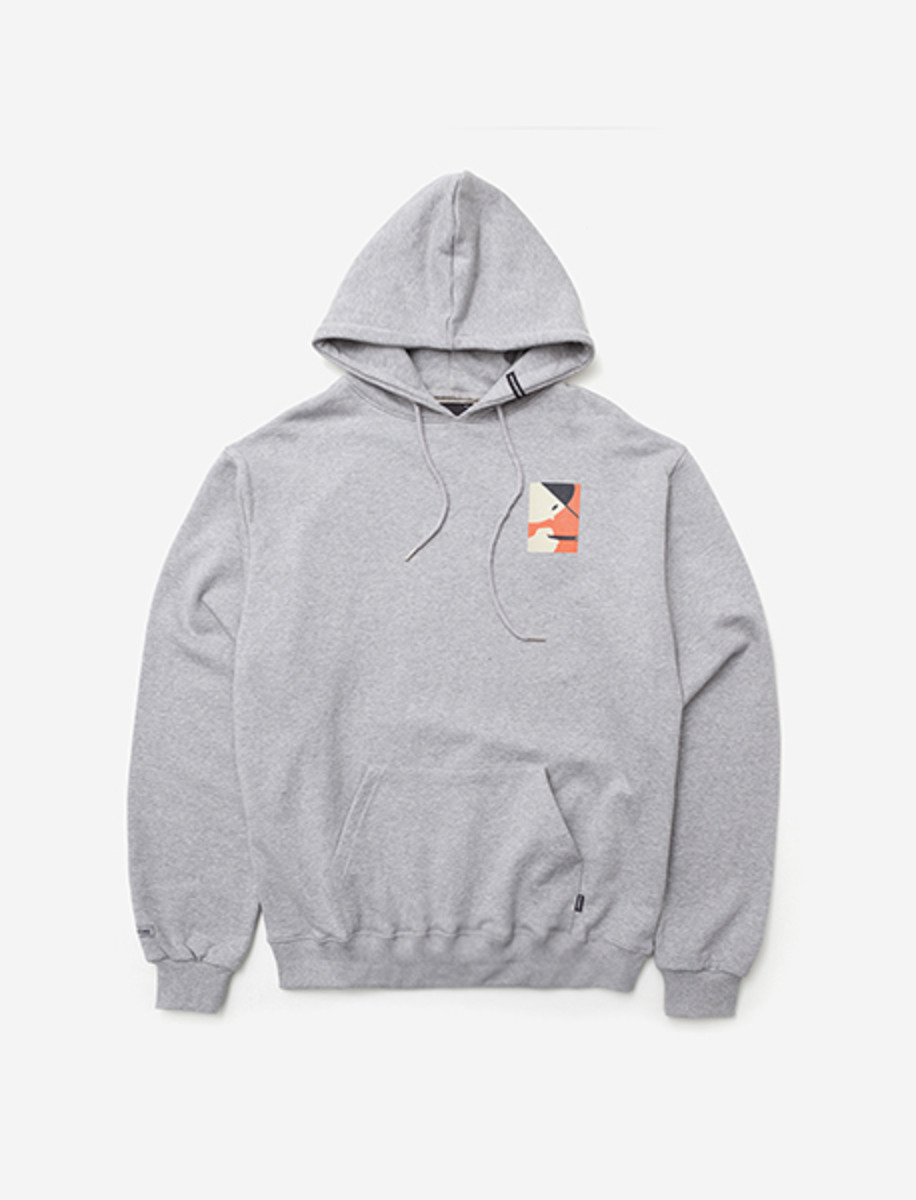 ADDICT HOODIE - GREY brownbreath