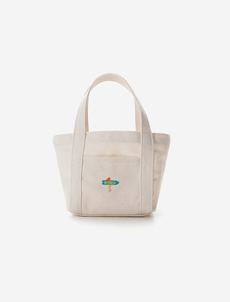 SURF MINI M.BAG - IVORY brownbreath