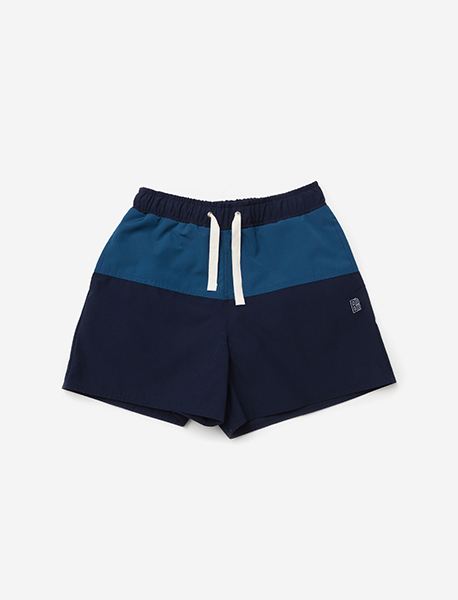 B SWIM SHORTS - NAVY brownbreath