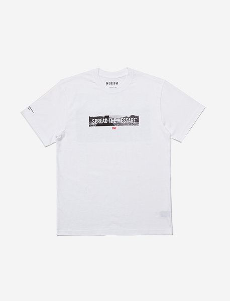 MARTIN TEE - WHITE brownbreath