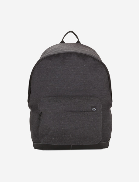 N020 BASIS DAYBAG - 2TONE GREY brownbreath