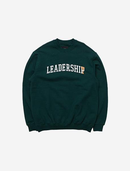 LEADERSHIT CREWNECK - GREEN brownbreath